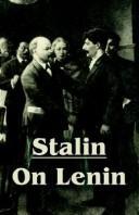 Stalin On Lenin