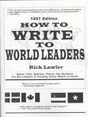 Download How to Write to World Leaders