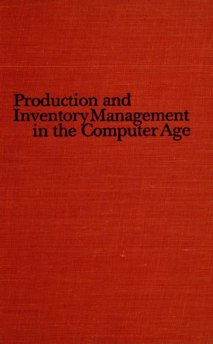 Download Production and inventory management in the computer age