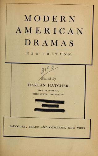 Modern American dramas.