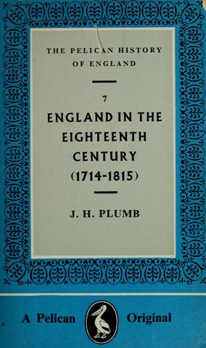 England in the eighteenth century