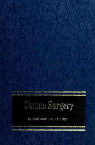 Download Canine surgery