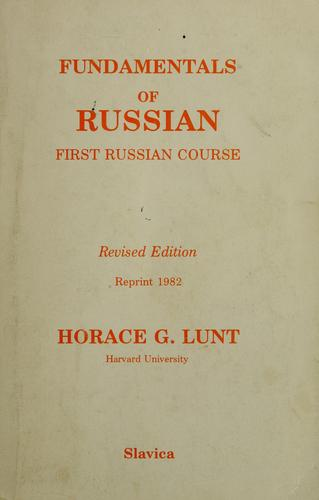 Download Fundamentals of Russian