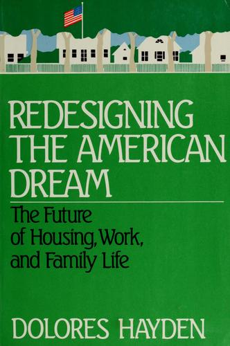 Redesigning the American dream