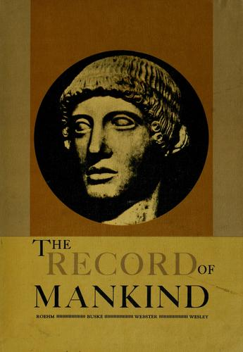 The record of mankind