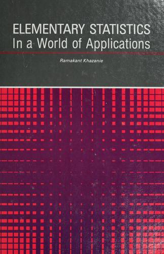 Elementary statistics, in a world of applications