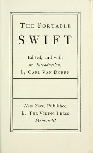 The portable Swift