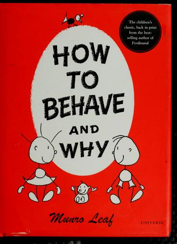 Download How to Behave and Why