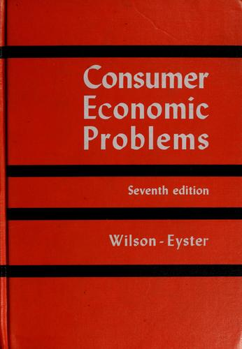 Download Consumer economic problems
