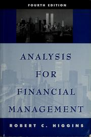 *ANALYSIS FOR FINANCIAL MANAGEMENT