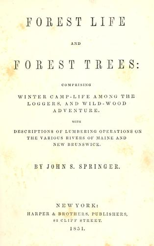 Download Forest life and forest trees