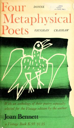 Download Four metaphysical poets: Donne, Herbert, Vaughan, Crashaw