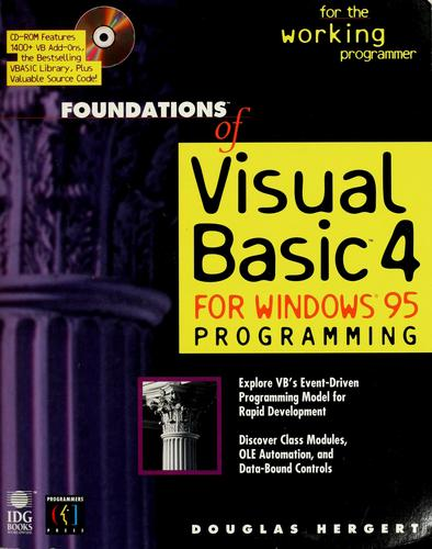 Download Foundations of Visual Basic 4 for Windows 95 programming