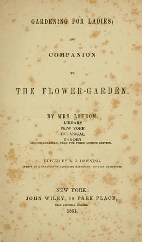 Download Gardening for ladies