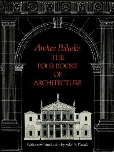 Download The four books of architecture.
