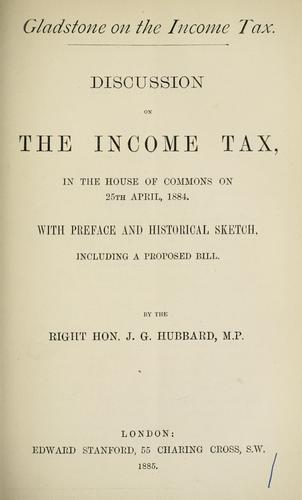 Download Gladstone on the income tax