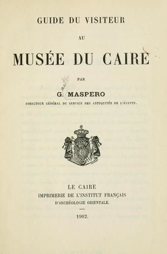 Download Guide du visiteur au Musée du Caire