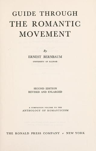Guide through the romantic movement.