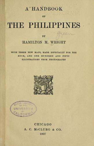Download A handbook of the Philippines