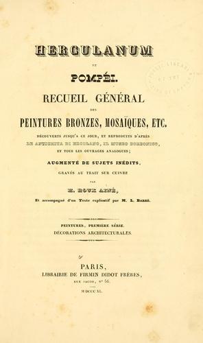 Download Herculanum et Pompéi