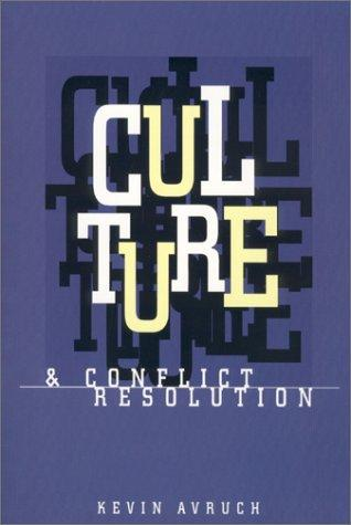 Download Culture & conflict resolution