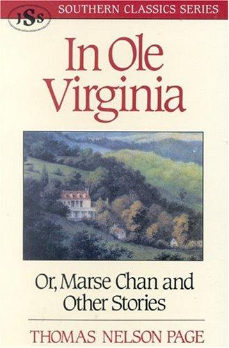Download In ole Virginia, or, Marse Chan and other stories
