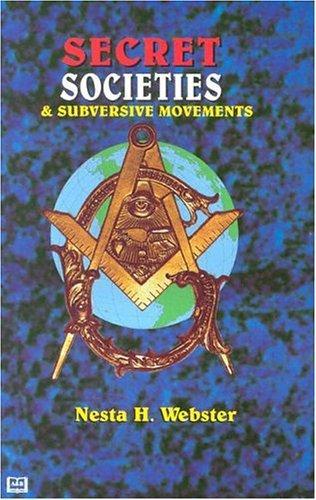 Download Secret societies & subversive movements