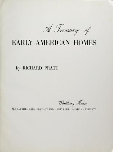 Download A treasury of early American homes.