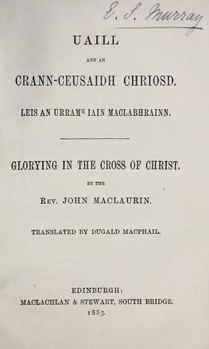 Download Uaill ann an crann-ceusaidh Chriosd