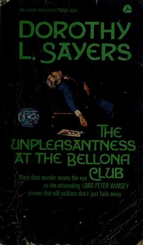 Download The unpleasantness at the Bellona Club