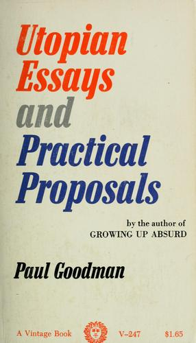 Download Utopian essays and practical proposals.