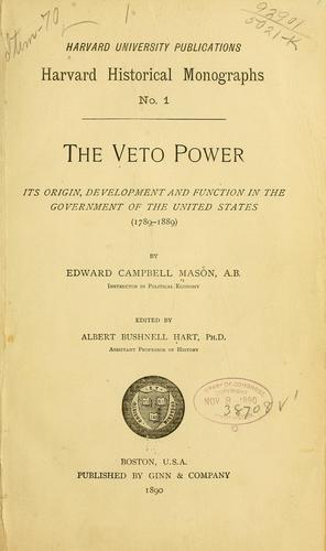 …The veto power