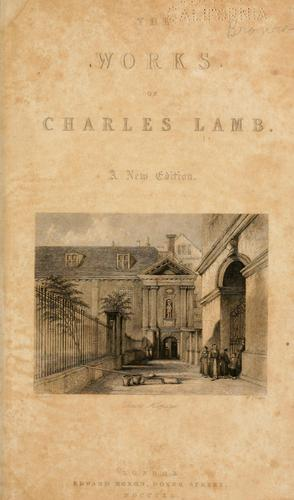 The works of Charles Lamb.