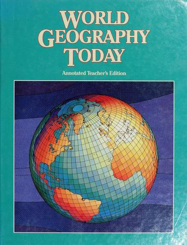 Download World geography today