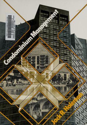 Cover of: Condominium management | Jack R. Holeman