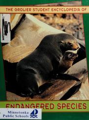 Cover of: Grolier Student Encyclopedia of Endangered Species, 10 Vol. Set | Grolier Educational