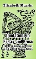 Quotations in Poetry and Prose by Elizabeth Murrin