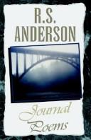 Journal Poems by R. S. Anderson