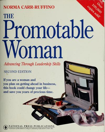The promotable woman by Norma Carr-Ruffino
