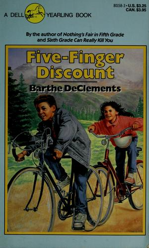 Five finger discount by Barthe DeClements