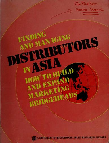 Finding and managing distributors in Asia by