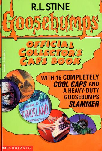 Goosebumps official collector's caps book by R. L. Stine