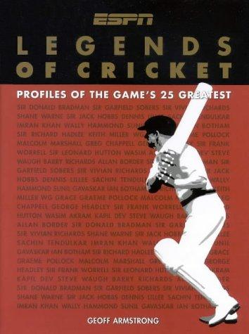 Legends of Cricket (New Speciality Titles) by Geoff Armstrong