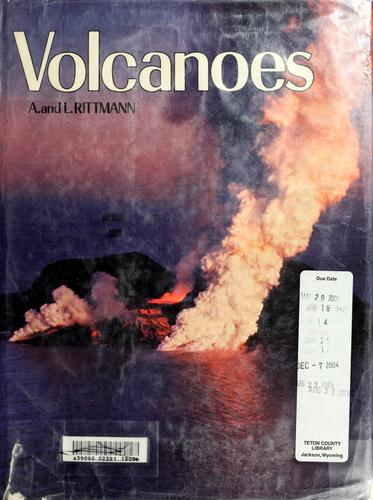 Volcanoes by Alfred Rittmann